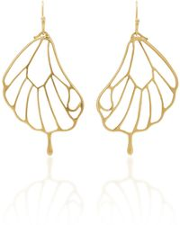 Annette Ferdinandsen - 18k Gold Pampion Wing Earrings - Lyst