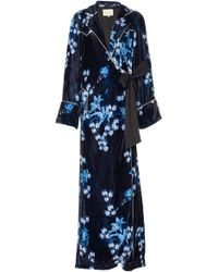 Johanna Ortiz - Silk Velvet New Sunrise Robe - Lyst
