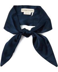 Donni Charm - Silk Neck Tie - Lyst