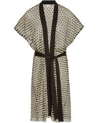 Flagpole Swim - Vik Knit Robe - Lyst