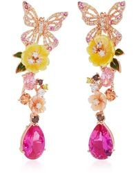 Anabela Chan - Exclusive: Rose Vine Earrings - Lyst