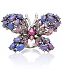 Wendy Yue - Opal Butterfly Ring - Lyst