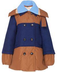Marni - Oversized Padded Cotton Jacket - Lyst