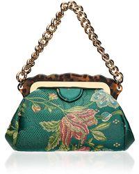 Edie Parker - Aliza Silk Brocade Bag - Lyst