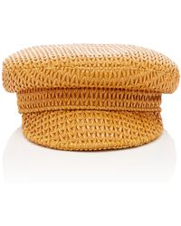 Lack of Color - Mesa Woven Leather Cap - Lyst
