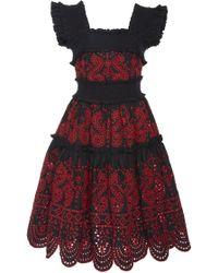 Marissa Webb - Nicola Embroidered Dress - Lyst