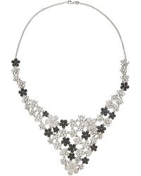 Colette - M'o Exclusive: Flower Necklace - Lyst