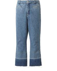 Loewe - Mid-rise Fisherman Jeans - Lyst