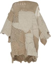 Tuinch - Oversized Chunky Jumper - Lyst