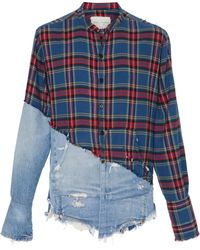 Greg Lauren - Boulder Button-up Shirt - Lyst