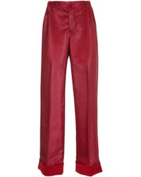 F.R.S For Restless Sleepers - Etere Lurex Pajama Pant - Lyst