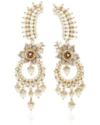 Marchesa - Drama Crawler Earrings - Lyst