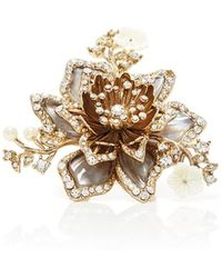 Marchesa - Flower Ring - Lyst
