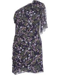 Isabel Marant - Manda Ruffled Mini Dress - Lyst