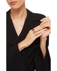 Wendy Yue | Citrine And Garnet Ring | Lyst