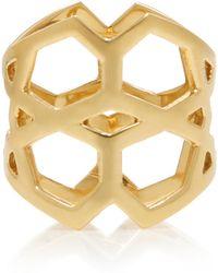 Ralph Masri - 18k Gold Cutout Ring - Lyst
