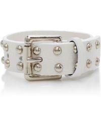 Rodarte - Studded Leather Bracelet - Lyst