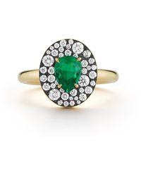 Jemma Wynne Privé Oval Emerald Ring