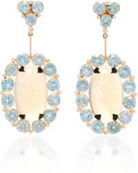 Hanut Singh - Mega Opal Earrings - Lyst