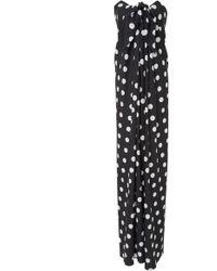 MO Exclusive Kaia Bougainvillea Front Tie Maxi Dress Caroline Constas 6POXsBspdr