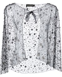 Jenny Packham - Vela Embellished Cape - Lyst