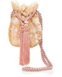 Neptune drawstring pouch shoulder bag Rebecca de Ravenel HNWTv2eW