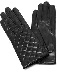 Maison Fabre | Quilted Leather Gloves | Lyst
