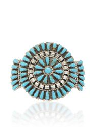 Fallon - One-of-a-kind Turquoise Round Monumental Uff - Lyst