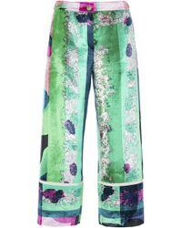 Emilio Pucci | Velvet Pyjama Pant | Lyst