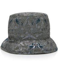 Anna Sui - Garden Of Eden Jacquard Hat - Lyst