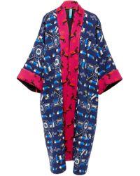 Rianna + Nina - Greek Kimono Katharina Coat - Lyst