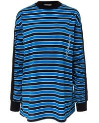 Givenchy - Striped Cotton-jersey Sweatshirt - Lyst