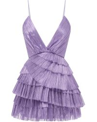 Alice McCALL - Don't Be Shy Pleated Shell Dress - Lyst