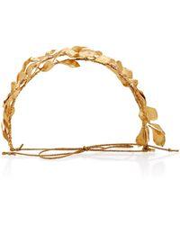 Jennifer Behr - Sabrina Circlet Gold-plated Headband - Lyst