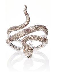 Wendy Yue - Diamond Serpent Cuff - Lyst
