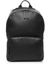 Troubadour - Waterproof Leather Zip Backpack - Lyst