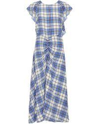 Paper London - Dutch Ruffle Midi Dress - Lyst