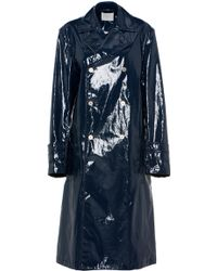 Dion Lee - Coated Trench Coat - Lyst