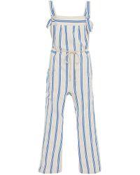 Warm - Stripe July Jumpsuit - Lyst