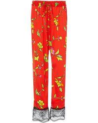 Caroline Constas - Pajama Pant - Lyst