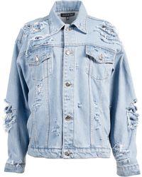 ANOUKI Distressed Denim Jacket