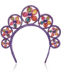 Magnetic Midnight - Flower Power Flower Crown - Lyst