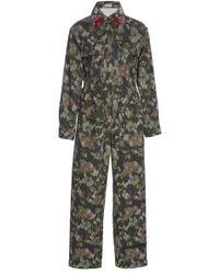 Manoush - Floral Printed Jumpsuit - Lyst