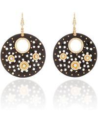 Hanut Singh - One-of-a-kind Ebony Discs Earrings - Lyst