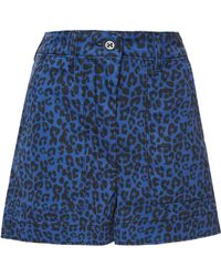 Tomas Maier - Leopard Palm Shorts - Lyst