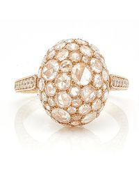 Sidney Garber - Rosebud Rose Gold Ring - Lyst