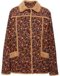 Anna Sui - Ditsy Daze Corduroy Levi's Jacket - Lyst