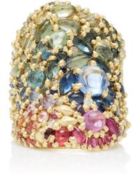 Polly Wales - One-of-a-kind Colette Shield Ring - Lyst