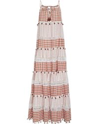 Dodo Bar Or - Patricia Tiered Cotton Maxi Dress - Lyst