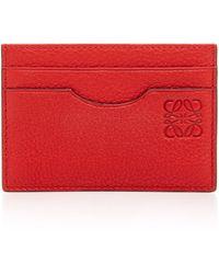 Loewe - Calfskin Card Case - Lyst